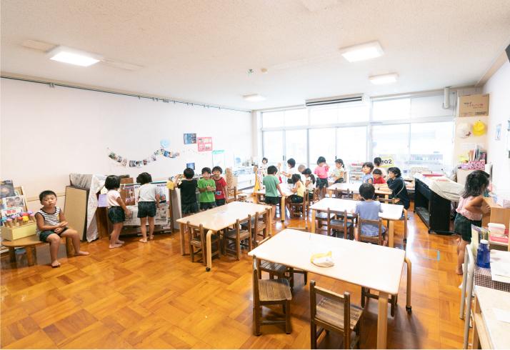 幼稚園満3〜5歳児保育室